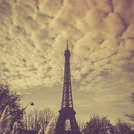 Parijs Eiffeltoren van Tonny Visser-Vink