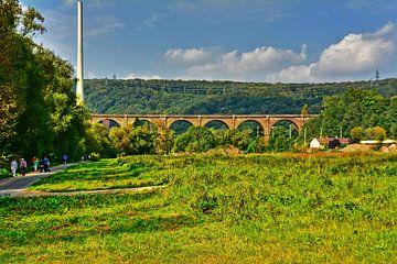 Eisenbahnbrücke van Edgar Schermaul
