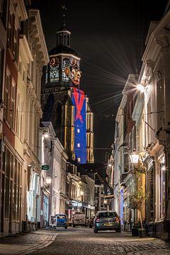 De Peperbus tijdens Carnaval in Bergen op zoom van Lars Mol