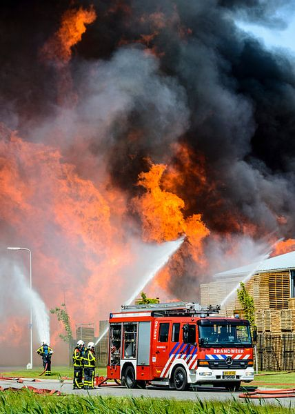 Brand van Sjoerd van der Wal