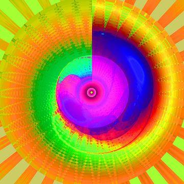 The Rainbow Energy-Spiral van Ramon Labusch