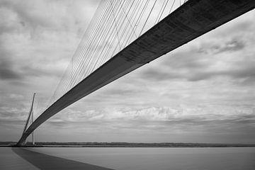 Le Pont de normandie van Virginie Van Baelen