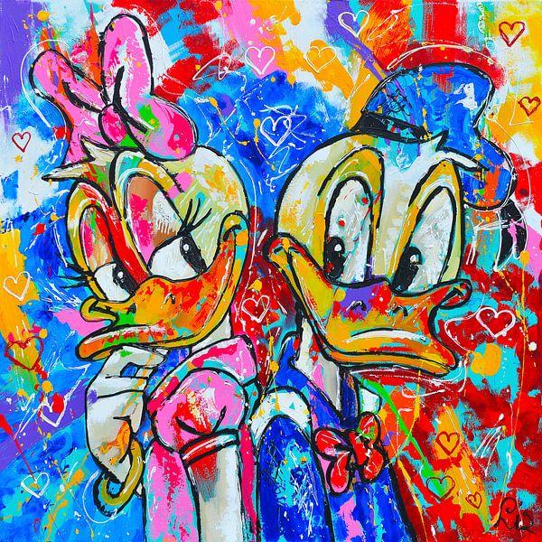 Disney von Vrolijk Schilderij
