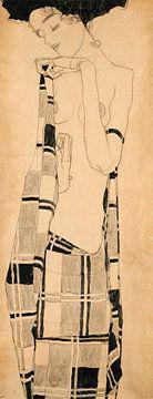 Stehendes Mädchen, Egon Schiele