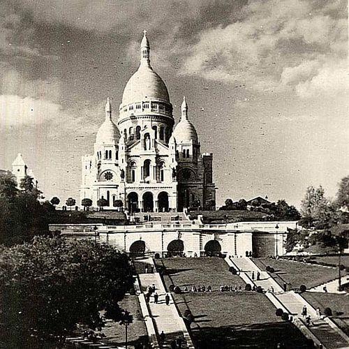 Sacré-Coeur de Montmartre in Paris von