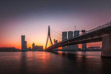 Erasmusbrug Rotterdam  von Bram Kool