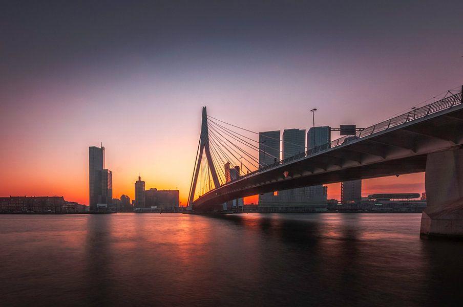Erasmusbrug Rotterdam  van Bram Kool