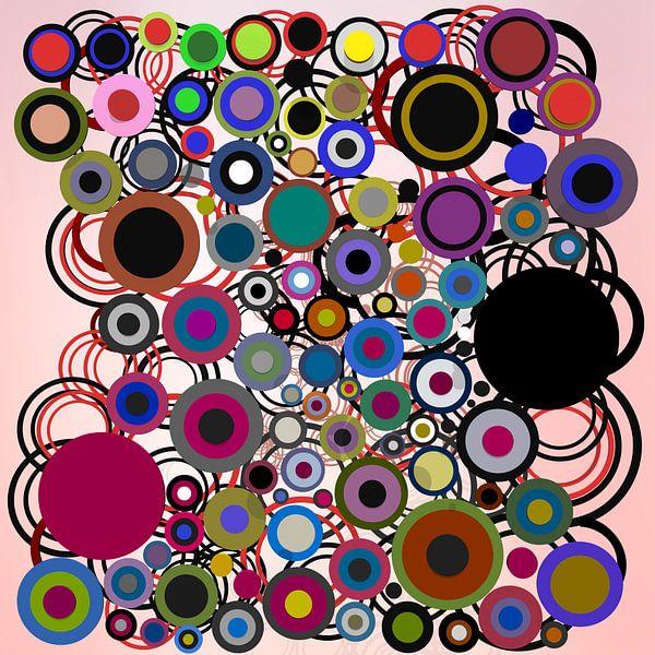 Composition abstraite 136 van Angel Estevez