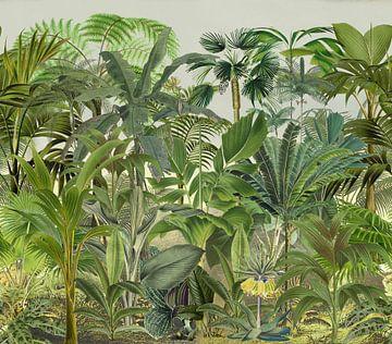 Grüner Tropendschungel