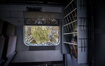 Verlaten Eurostar-trein (Urbex) von Willem van den Berge