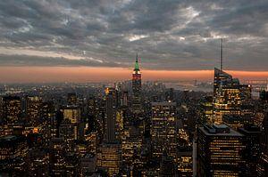 Empire state Building NYC  Skyline sur Kristian Hoekman