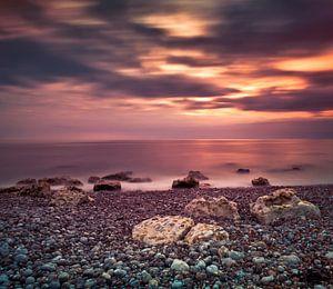 Mirror seascape