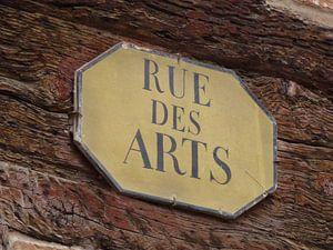 Kunst ligt op straat, je moet het alleen zien. van