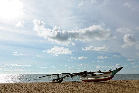 Vissersboot Sri Lanka