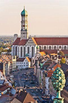 Augsburg in Bayern von Werner Dieterich