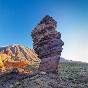 Garcia, Pico del Teide, Tenerife, Canarische Eilanden, Spanje van Markus Lange