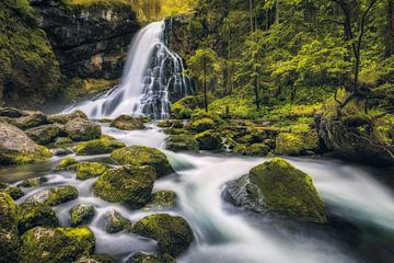 Gollinger Wasserfall (Tennengau / Salzburg) von Dirk Wiemer