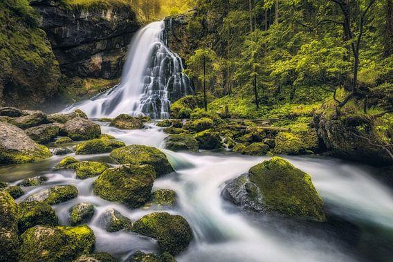 Gollinger Waterfall (Tennengau / Salzburg) van Dirk Wiemer