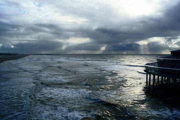 Noordzee en de Pier van Scheveningen sur
