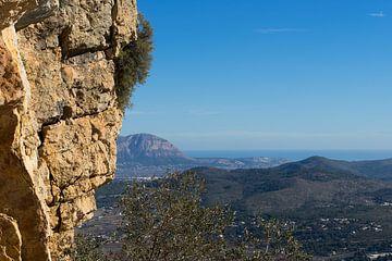 Uitzicht op de Montgó en de Middellandse Zee van Montepuro