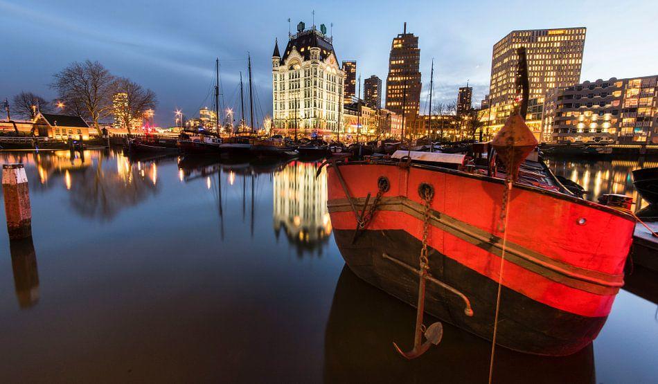 Oudehaven Rotterdam van Jan Sluijter
