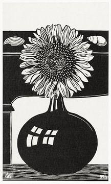 Zonnebloem, Samuel Jessurun de Mesquita (1914) van Atelier Liesjes