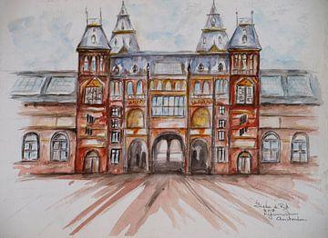 Rijksmuseum Amsterdam. van Ineke de Rijk