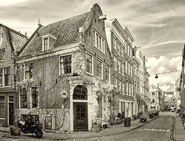 Das schöne Amsterdam im Jordaan von Peter Bongers