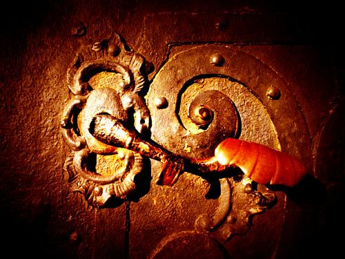 Tür-Detail  von