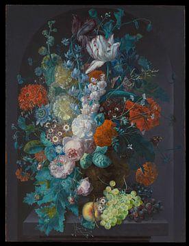 Eine Vase mit Blumen 1716