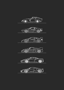 Ferrari Hypercars Entwicklung von Artlines Design