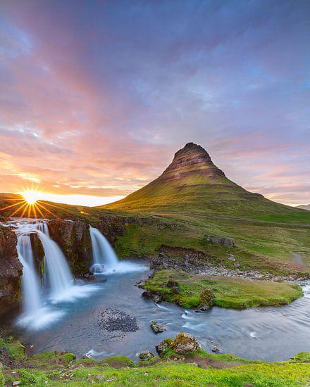 Kirkjufellsfoss Iceland von Menno Schaefer