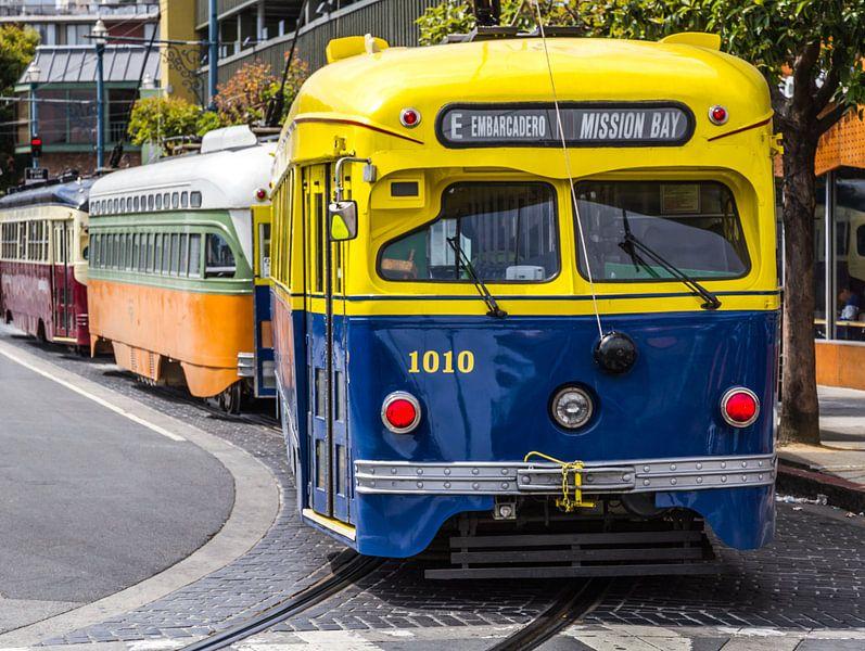 San Francisco trams van Dirk Jan Kralt