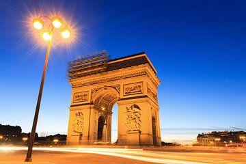 Arc de Triomphe avec lanterne sur Dennis van de Water