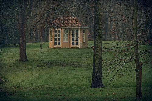 Tuinhuisje op landgoed Hoekelum