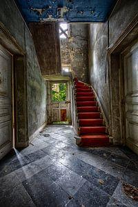 Rote Treppe von Chris de Gier