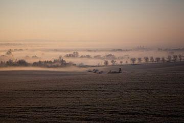 Landschaft im Nebel von t.ART