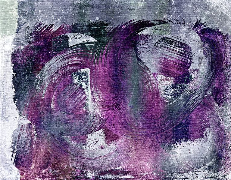 Composix - 0261hyellow and purple abstract