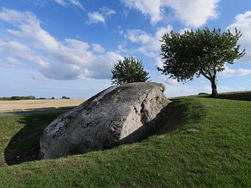 Dammestenen Boulder van Jörg Hausmann