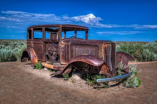 Oude oude in de woestijn
