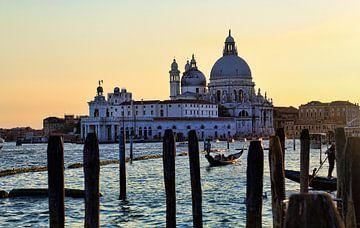 Venetië. Santa Maria della Salute van Jan Kranendonk