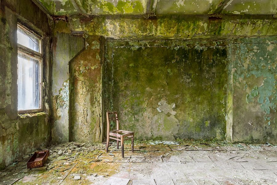 Green walls van Truus Nijland