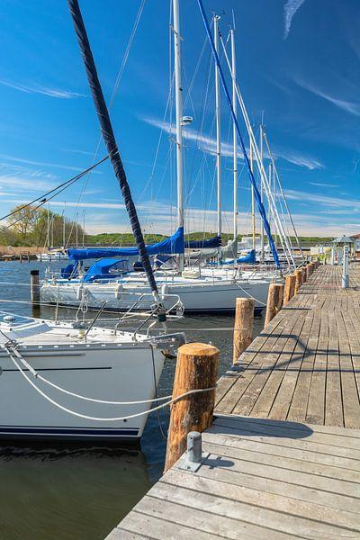 Segelschiffe im Hafen Seedorf bei Sellin, Rügen von GH Foto & Artdesign