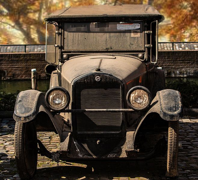 Antieke Studebaker een Oldtimer van Brian Morgan
