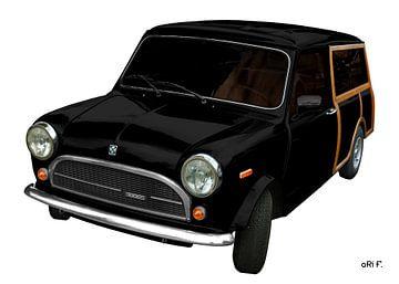 Innocenti Mini 850 Traveller in black von aRi F. Huber