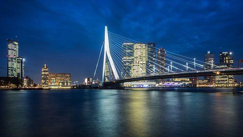 Rotterdam Skyline van Scott McQuaide