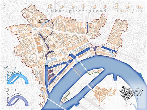 Plan double de Rotterdam 1939/Maintenant