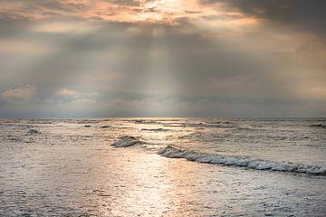 Zonlicht boven de Noordzee von Evert Jan Kip