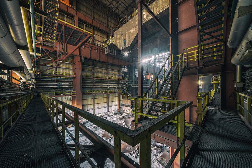 Urbex Standort Heavy Metal | Verlassene Orte von Steven Dijkshoorn
