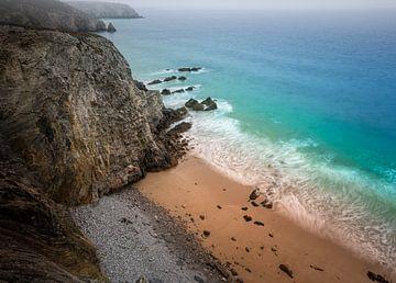 Strand der Bretagne von Jeroen Mikkers
